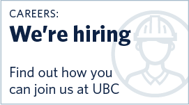 Careers: Work at UBC with Building Operations